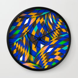 Wild Energy Wall Clock