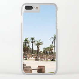 Temple of Luxor, no. 23 Clear iPhone Case