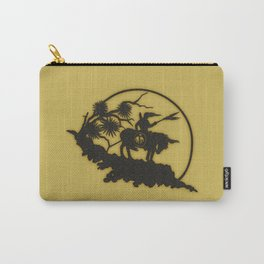 Indian On Hill Parchment Paper Carry-All Pouch