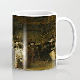 Rembrandt's The Night Watch Coffee Mug