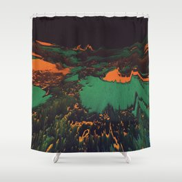 ŁÁQUESCÅPE Shower Curtain