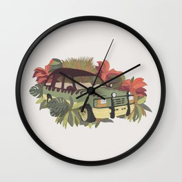 Jurassic Car Wall Clock