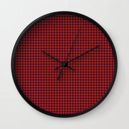 Fraser Tartan Wall Clock