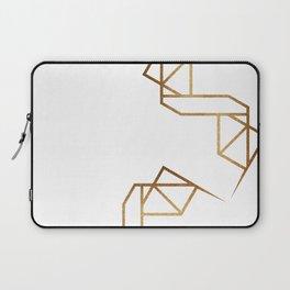 industrial golden glitters Laptop Sleeve