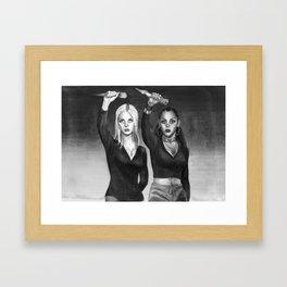 Slay The Patriarchy Framed Art Print