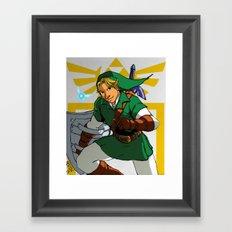 The Legend of Zelda: Link Framed Art Print