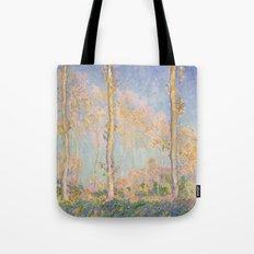 Claude Monet - Poplars, 1891 Tote Bag