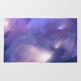 Innocence (Remembering life before the hurt) | Abstract Painting Rug