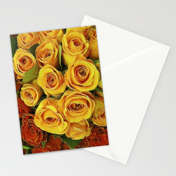 A Case of LOVE! (hot roses) Stationery Cards