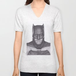 Ben Affleck Bat man Unisex V-Neck