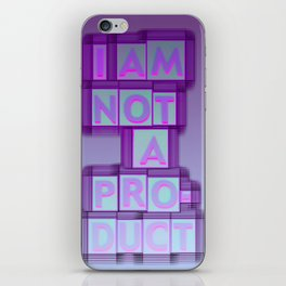 nope 0 iPhone Skin
