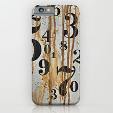 Numeric Values: Crude Figures iPhone 6s Slim Case
