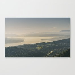 Zuerichsee Canvas Print