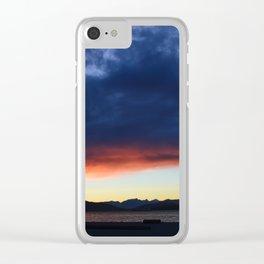 wreck beach Clear iPhone Case