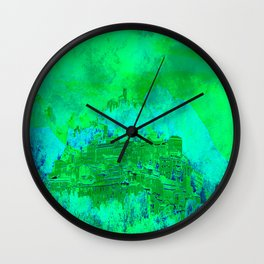 Welcome in Italy  Wall Clock