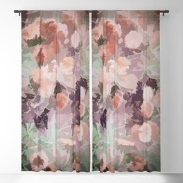 Pastel Forest Clearing Blackout Curtain