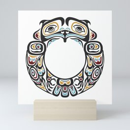 Native American Indian Tribal Motif Mini Art Print