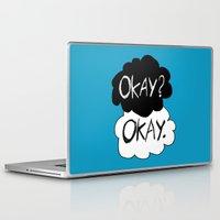 okay Laptop & iPad Skins featuring Okay? Okay.  by Tangerine-Tane