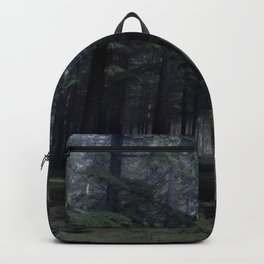 Obscure forest - Kessock, Highlands, Scotland Backpack