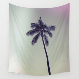 palm tree ver.vintage Wall Tapestry