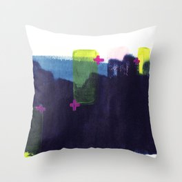 Pros and Cons Throw Pillow