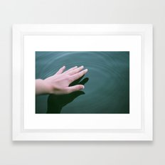 Touch Framed Art Print