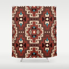 Native American 2 Shower Curtain