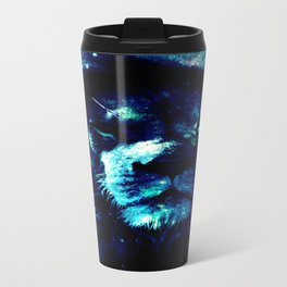 Galaxy Lion Travel Mug