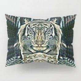 Meditating Tiger Pillow Sham