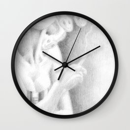 Floozie Medusa Wall Clock