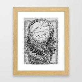 The Growth Framed Art Print