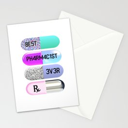 Best Pharmacist Ever Stationery Cards