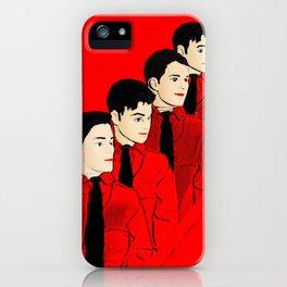 Kraftwerk Kens - Funny Music Pop Art! iPhone Case