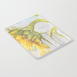 Helianthus annuus: Sunflower Abstraction Notebook