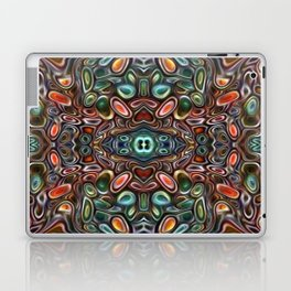 The Jubes - repeating pattern of small candy like glass shapes Laptop & iPad Skin