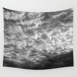 Dark clouds Wall Tapestry