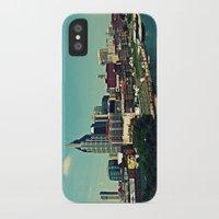 nashville iPhone & iPod Cases featuring Nashville Skyline by Sydney Smith
