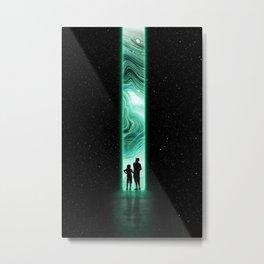 Cosmic Opening Metal Print