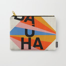 BAUHAUS POSTER - Mid century modern, mid-century wall art, print, geometric wall art, abstract wall Carry-All Pouch