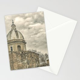 Rome Downtown Architecture Urban Scene Stationery Cards