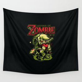 Legend of Zombie Wall Tapestry
