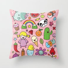 Everything is going to be OK #2 Throw Pillow