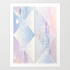 GO Art Print