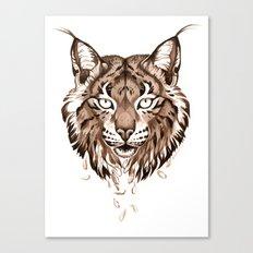Iberian Lynx: Drifting Canvas Print