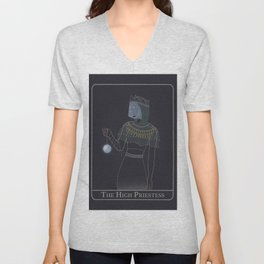 The High Priestess - Illustration 2020 Unisex V-Neck