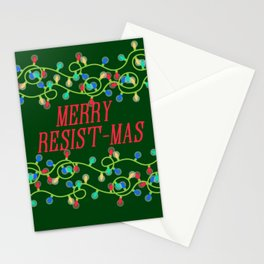 Merry Resistmas Stationery Cards