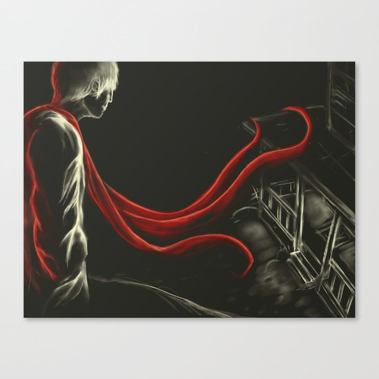 The stranger Canvas Print