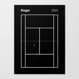 Roger. 20th Canvas Print