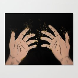 Fade to gold Canvas Print