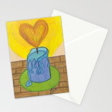 Burnin' Love Stationery Cards